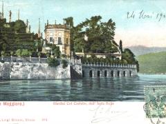 Lago Maggiore Giardini Col Castello dell' Isola Bella