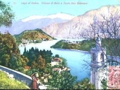 Lago di Como Chiesa di Sala e Isola San Giovanni