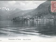Lago di Como Panorama di Torno