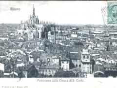 Milano Panorama dalla Chiesa di S Carlo