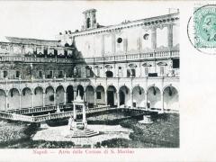 Napoli Atrio della Certosa di S Martino