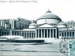 Napoli Chiesa di S Francesco di Paola