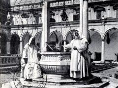 Napoli Chiostro di San Martino Il pozzo