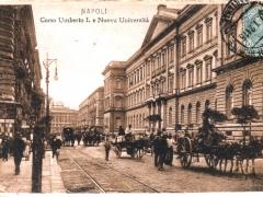 Napoli Corso Umberto I e Nuova Universita