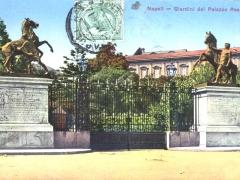 Napoli Giardini del Palazzo Reale
