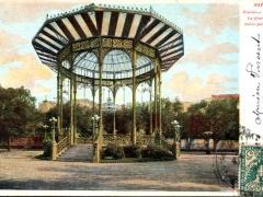 Napoli Giardino della Villa La fisarmonica