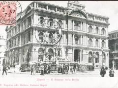 Napoli Il Palazzo della Borsa