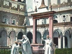 Napoli Il pozzo del Chiostro di S Martino
