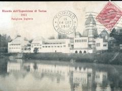 Ricordo dell'Esposizione di Torino 1911 Padiglione Ungheria