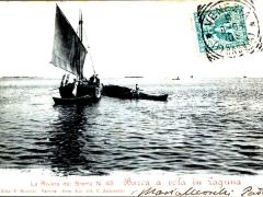 Riviera dei Brenta Barca a vela in Laguna