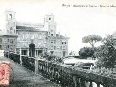 Roma Accademia di Francia Terrazzo interno
