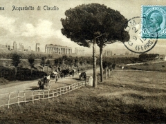 Roma Acquedotto di Claudio
