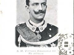 S M Vittorio Emanuele III Re d'Italia
