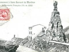 Saint Bernard de Menthon Monument e Gendarmerie Francaise