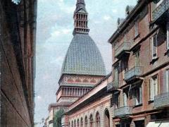 Saluti da Torino Mole Antoneliana Monumento Nazionale