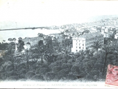 San Remo dalla villa Angiolina