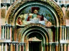 Venezia Basilica di S Marco Porta Centrale