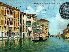 Venezia Canal Grande Palazzo