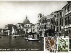 Venezia Canal Grande S Geremia