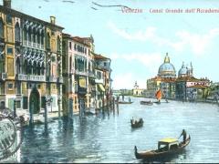 Venezia Canal Grande dall'Accademia