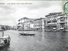 Venezia Canal Grande dalla Chiesa della Salute
