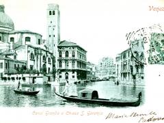 Venezia Canal Grande e Chiesa S Geremia