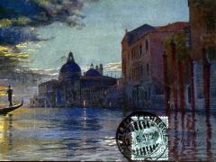 Venezia Canal Grande e Chiesa della Suite