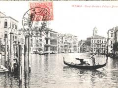 Venezia Canal Grande e Palazzo Browning