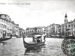 Venezia Canal Grande verso Rialto