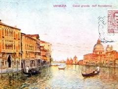 Venezia Canal grande dall' Accademia