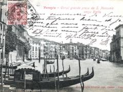 Venezia Canal grande preso da S Marcuola verso Rialto