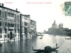 Venezia Canal grande verso la Salute