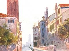 Venezia Canale di S Barnaba
