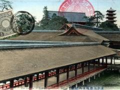 Aki the Corridor of Itsukushima Shrine