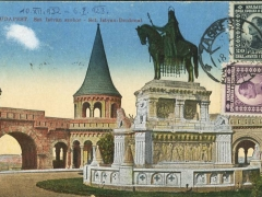 Budapest Sct Istvan Denkmal