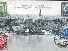 Novi Sad Pamorama sa dunava