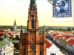 Ujvidek Röm kath Kirche