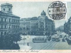 Wien Althanplatz mit Franz Josef Bahnhof