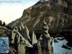 Banff Alberta Natural Pillars
