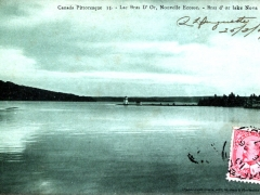 Bras d'or lake Nova Scotia
