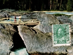 Canadian Rockies Field Natural Bridge