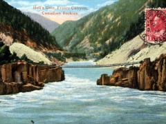 Canadian Rockies Hell's Gate Fraser Canyon