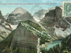 Canadien Rockies Castle Crags Hazel and Lage Agnes Laggan