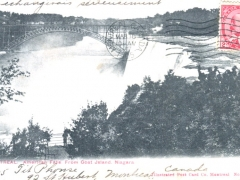 Niagara American Falls from Goat Island
