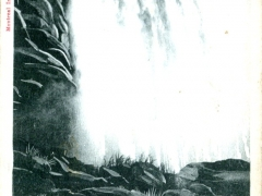 Niagara Falls American Falls below