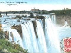 Niagara Falls Canadian Falls from Terrapin Point