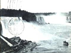 Niagara Falls General View from Bridge