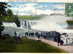 Niagara Falls from Prospect Park