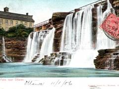 Rideau Falls near Ottawa