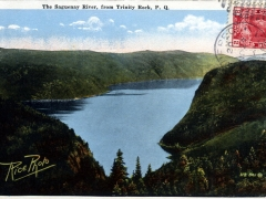 Saguenay River from Trinity Rock